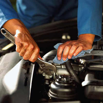 Drivers get the car maintenance they need to welcome spring travel.  (PRNewsFoto/Hesser Toyota)