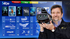 "Al ""3DGUY"" Caudullo to preview new 3-D Hollywood feature film releases and spectacular scenes on 3doo's new ""3-D Entertainment News"" Channel, free on tens of millions of Samsung, LG & Panasonic Smart TVs in over 150 countries.  (PRNewsFoto/3doo)"
