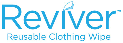 Introducing REVIVER, the revolutionary new reusable clothing wipe that instantly eliminates unwanted aromas on clothes and hair.  (PRNewsFoto/Kusin & Kusin Ltd.)