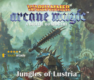 """Now Launched on iPhone and iPad a Major Content Update and DLC for the Critically Acclaimed """"Warhammer: Arcane Magic"""" (PRNewsFoto/Turbo Tape Games and Games Works)"""