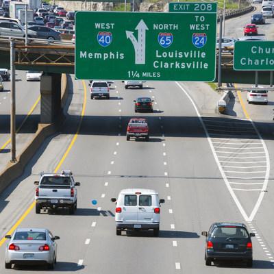 Interstate 40 corridor in Nashville