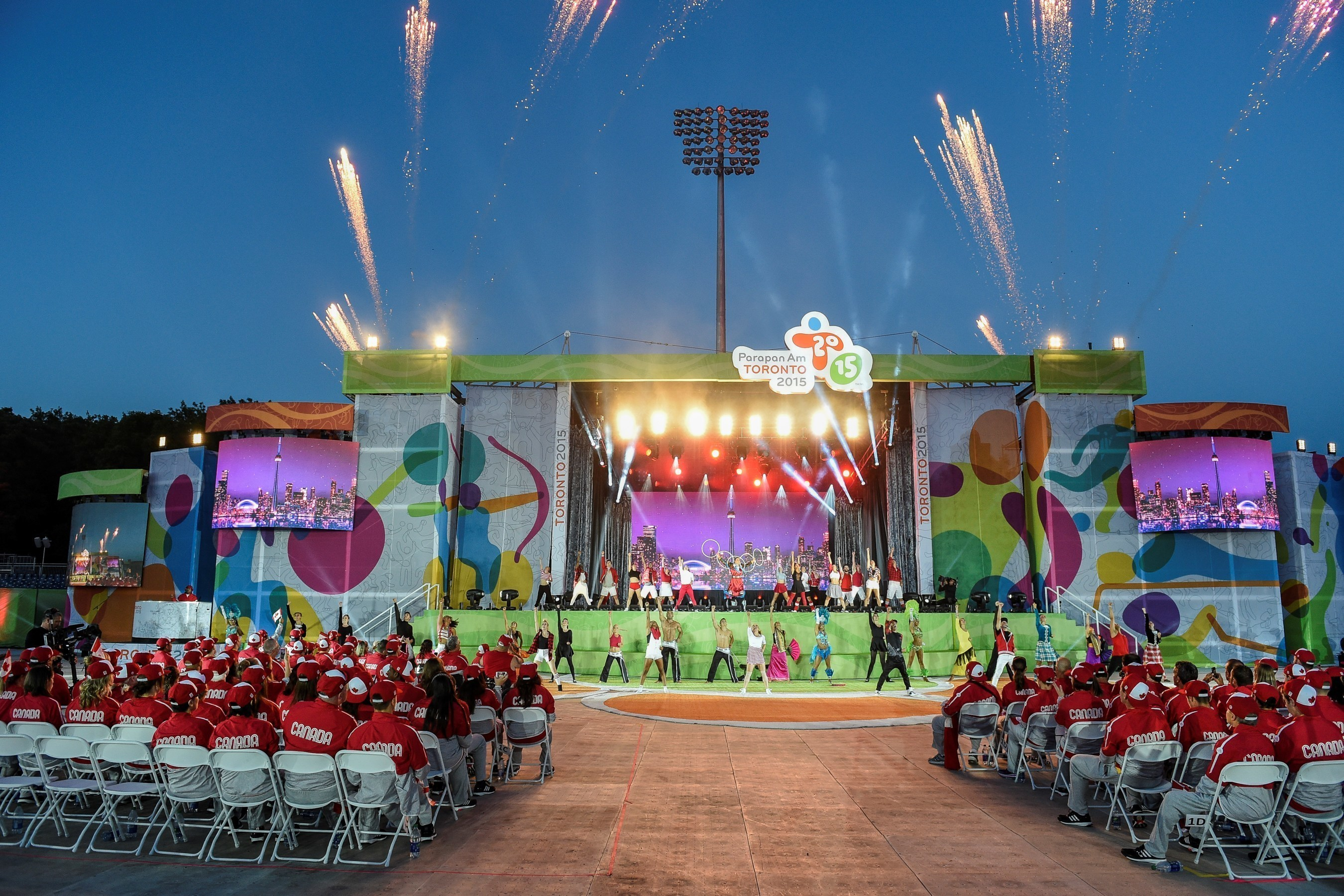 TO2015 Hosts Opening Ceremony of Largest Ever Parapan Am Games