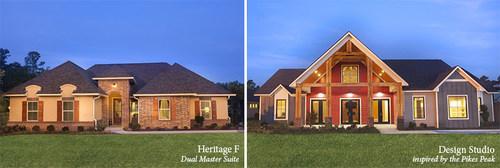 Custom home builder schumacher homes opens new model home for Home builders in shreveport la