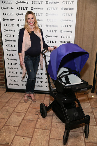 Rosie Pope attends the launch of the Orbit Baby G3 stroller and travel system hosted by Gilt at The Refinery Hotel Rooftop on January 28, 2014 in New York City (Photo by Neilson Barnard/Getty Images). (PRNewsFoto/Orbit Baby, Inc.) (PRNewsFoto/ORBIT BABY, INC.)
