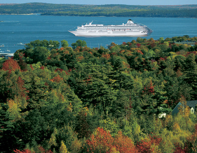 Crystal Cruises offers five seven- to 10-day New England/Canada cruises in the autumn of 2014. (PRNewsFoto/Crystal Cruises)