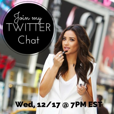 Join actress Shay Mitchell and Carmex Moisture Plus lip balm to discuss holiday fashion tips in an exclusive Twitter chat on 12/17 at 7 p.m. EST using the hashtag #CarmexShayQnA! Shay will be answering your questions and prizes will be available for contest winners throughout the chat!