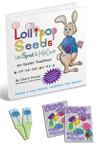Lollipop Seeds that Sprout for Kind Deeds(TM)Launches For Easter . Product aimed to help parents instill positive values like kindness.  (PRNewsFoto/Lollipop Seeds that Sprout for Kind Deeds)