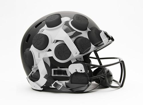 Xenith X2 Helmet Technology - Worn by Baltimore Ravens RB Ray Rice in Super Bowl XLVII.  (PRNewsFoto/Xenith LLC)