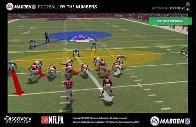 EA SPORTS Madden NFL: Football by the Numbers uses famous Madden NFL highlights to excite students about math and science behind football.