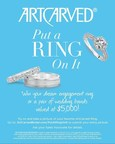 ArtCarved Put a Ring On It Counter Card (PRNewsFoto/ArtCarved)