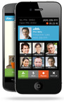 UberConference for iPhone and Android Making Teleconferences Light Years Better.  (PRNewsFoto/Firespotter Labs)