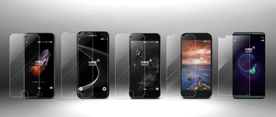 Presenting the Prism tempered glass screen protector by VRS Design.