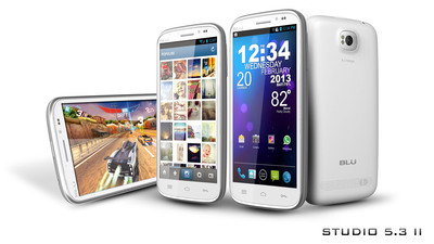 Studio 5.3 II.  (PRNewsFoto/BLU Products)