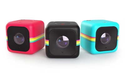 The Polaroid Cube+ Wi-Fi enabled lifestyle action camera is now shipping