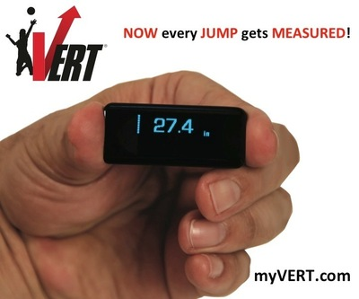 VERT wearable jump device