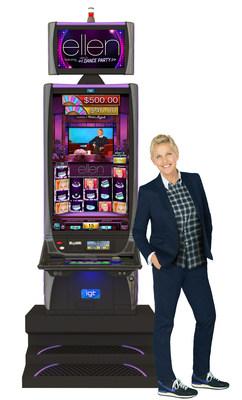 IGT introduces The Ellen DeGeneres Show(TM) Featuring Ellen's Dance Party Video Slots (PRNewsFoto/IGT)