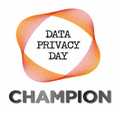 Data Privacy Day Champion logo. (PRNewsFoto/Privacy Ref) (PRNewsFoto/PRIVACY REF)