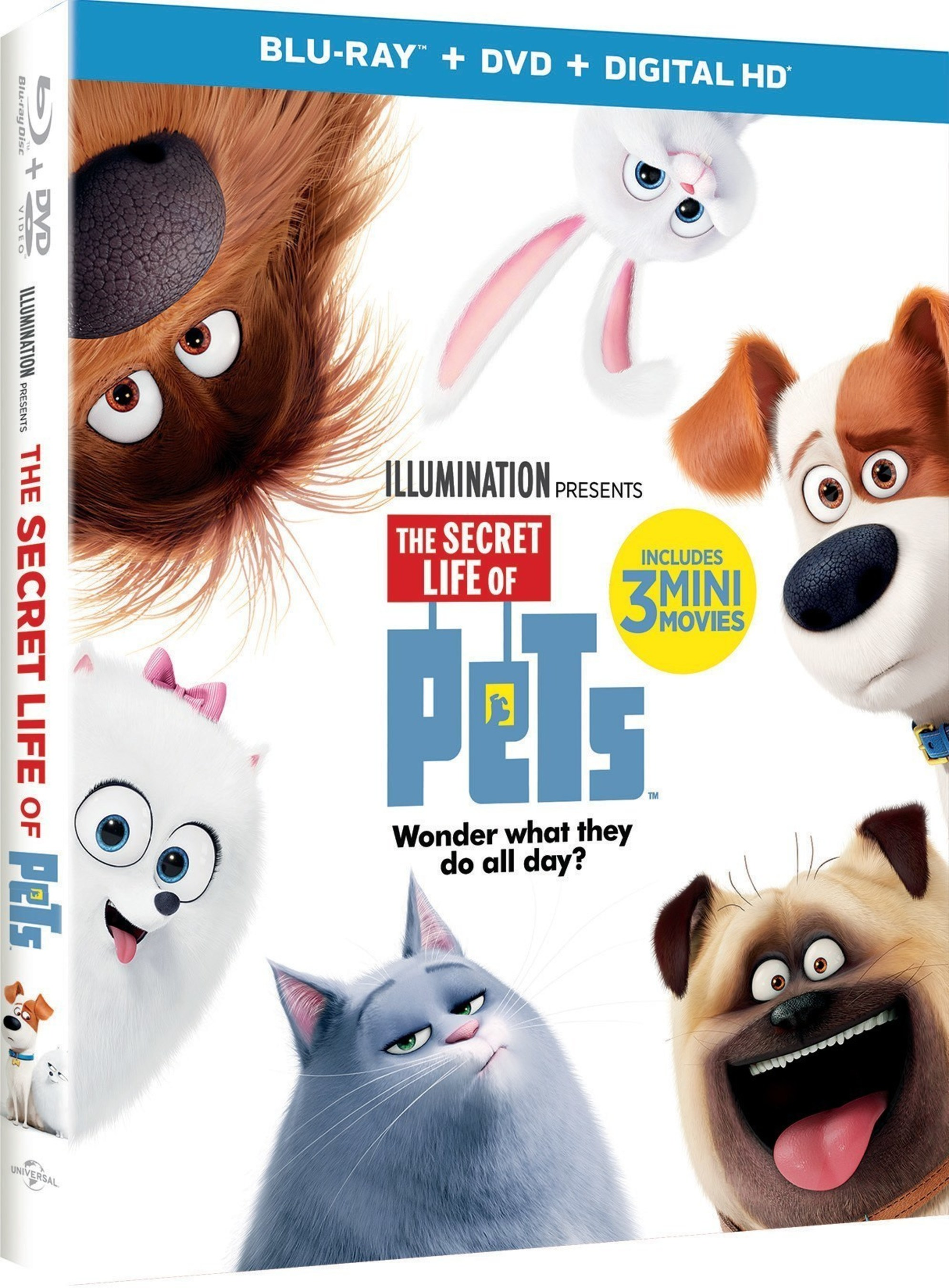 From Illumination Entertainment and Universal Pictures Home Entertainment: The Secret Life of Pets