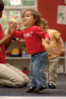 Children at Learning Care Group schools take a daily dance break to Grow Fit.  (PRNewsFoto/Learning Care Group)