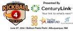 The 5th Annual Kickball 4 The Kids kickball tournament: http://abq2030.com/kickball-4-the-kids/ (PRNewsFoto/Active 20-30 Club of Albuquerque)