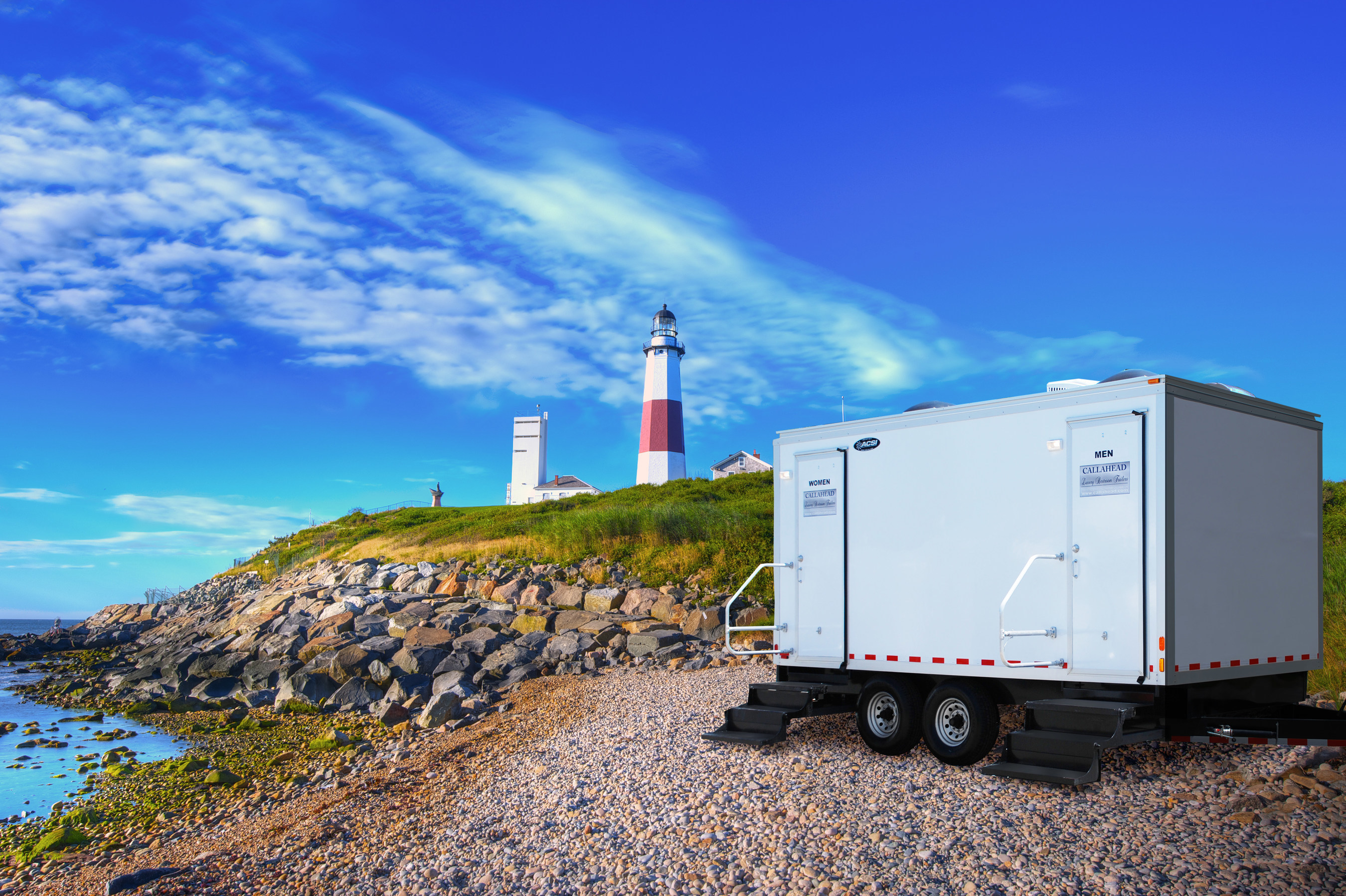 The Atlantic Portable Restroom trailer