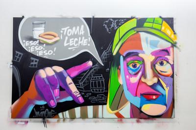 El Chavo y Leche, by Man One
