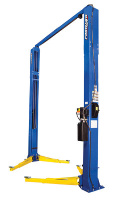 Forward Lift's new heavy-duty F12 two-post lift is designed to provide shops with a great value, combining a competitive price with a well-built and reliable 12,000 lb. capacity two-post lift they can use to service a wide variety of vehicles.