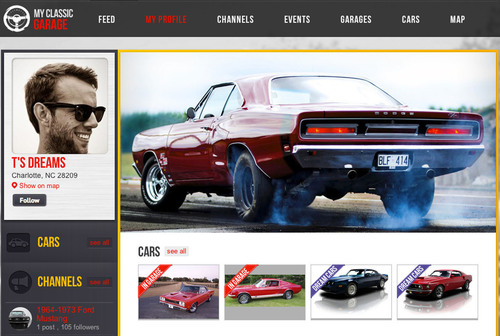 MyClassicGarage.com Launches a Robust Social Media Site for Automobile Enthusiasts