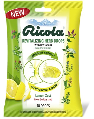 Ricola Announces New Revitalizing Herb Drop to Restore Energy