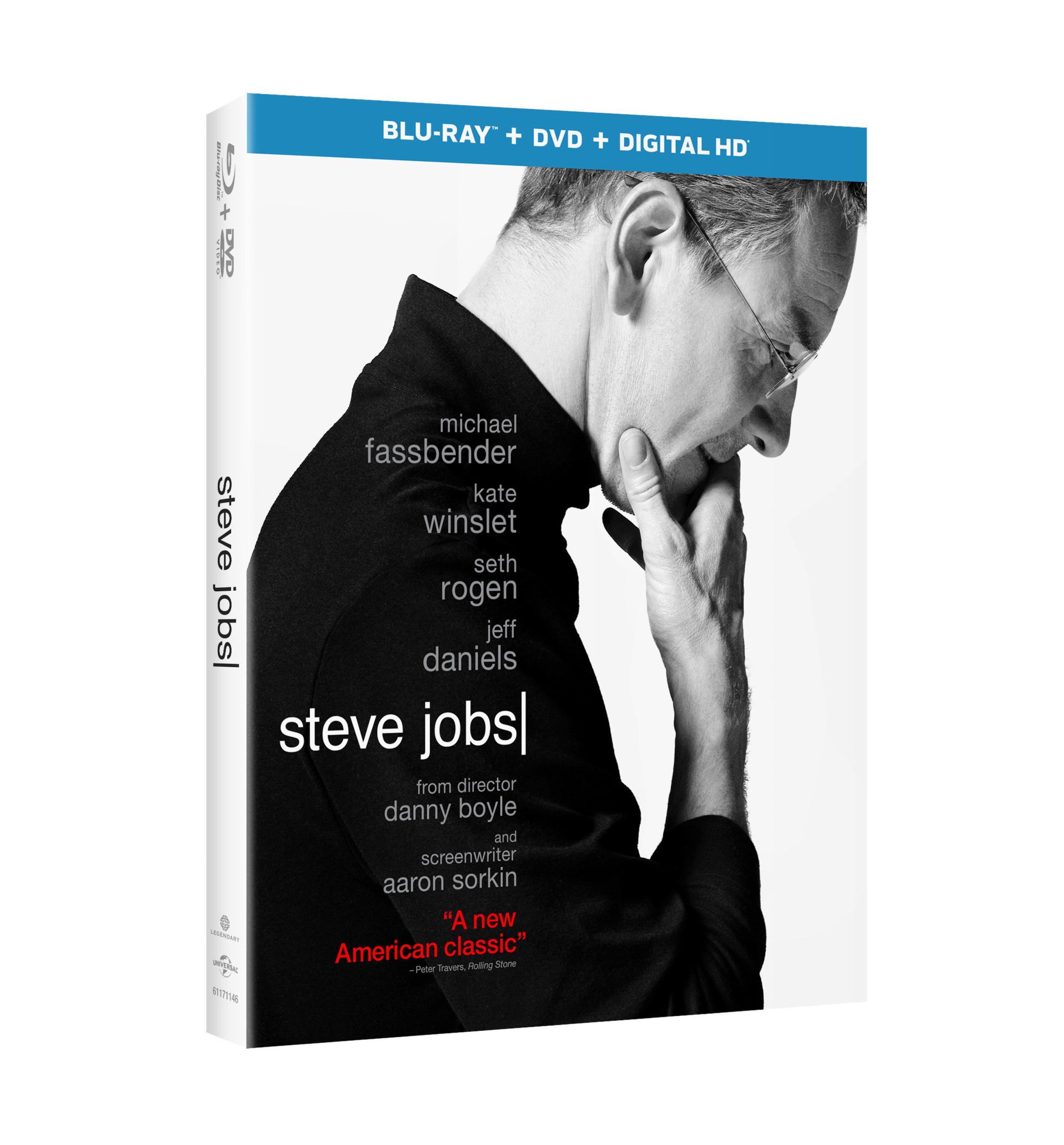 From Universal Pictures Home Entertainment: Steve Jobs