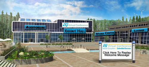 UBM Electronics Presented the STMicroelectronics Virtual Conference, Targeted to the Embedded