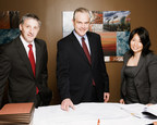 Burleson Construction and Federal Government Contracts Practice Group Attorneys Kevin Barley, Ericson Kimbel and Tania Wang