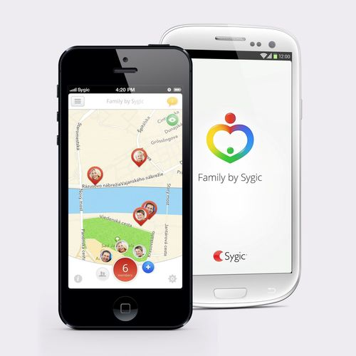 New location sharing and family safety app for iPhone and Android Family by Sygic. (PRNewsFoto/Sygic a_s_)
