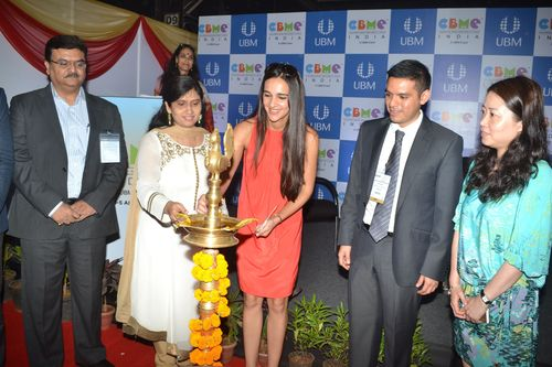 Inaugural Ceremony at CBME India 2014. (PRNewsFoto/UBM India Pvt Ltd)