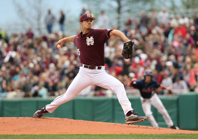 Mississippi State pitcher Dakota Hudson is one of five finalists for the 2016 C Spire Ferriss Trophy, which annually honors the state's best college baseball player.  The winner will be named on Monday.