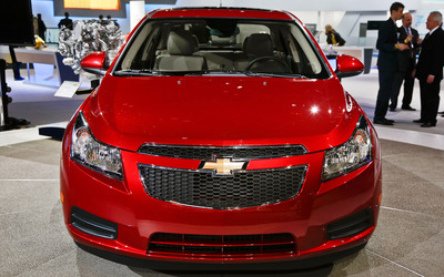 The 2014 Chevy Cruze Clean Diesel joins the lineup this year.  (PRNewsFoto/Broadway Automotive)