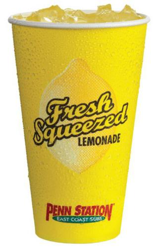 Penn Station fresh squeezed lemonade (PRNewsFoto/Penn Station East Coast Subs)