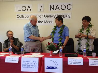 ILOA Hawaii To Use 2013 China Chang'e-3 Moon Lander Telescope For Galaxy Imaging