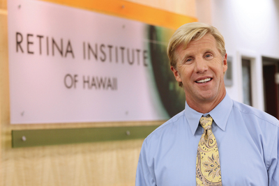 "Retina Institute of Hawaii's Founder Recognized for ""Bionic Eye"" - Dr. Michael Bennett Only Private Sector Surgeon Selected Nationwide (PRNewsFoto/Retina Institute of Hawaii)"