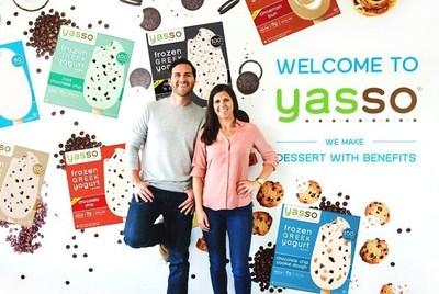 Yasso co-founders Drew Harrington and Amanda Klane