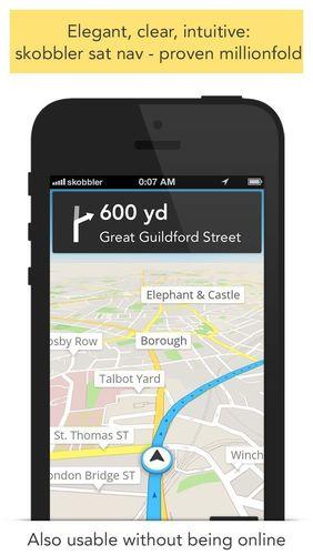 skobbler GPS Navigation (PRNewsFoto/skobbler)