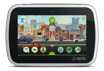 LeapFrog Epic Homescreen