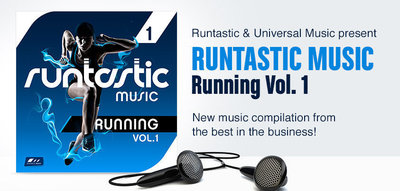 Runtastic Music - Running Vol. 1 (PRNewsFoto/Runtastic)