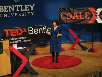 "Bentley University Business Law Professor Liz Brown presents her TEDx talk titled ""Work Flow: Finding Work You Love At Any Stage."""