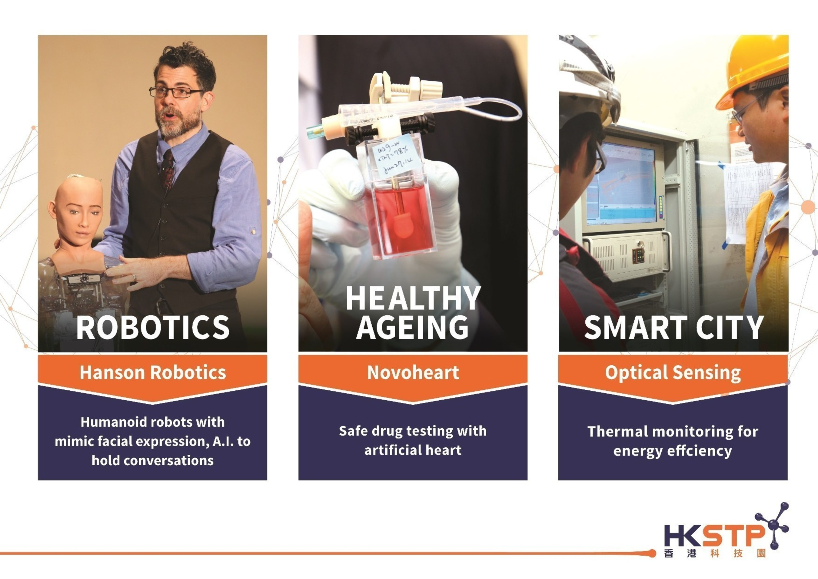 The three innovations highlighted in this picture show a glimpse of some of the early stage achievements from ...