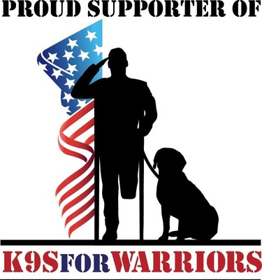 Proud Supporter of K9s For Warriors