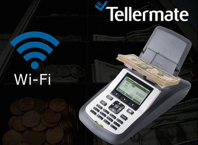 Tellermate Electronic Counter.  (PRNewsFoto/Tellermate, Inc.)