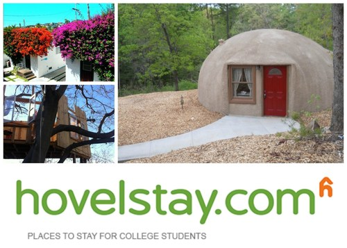 From dome fortresses to mermaid cottages, hovelstay.com offers a sense of adventure through hoveling. (PRNewsFoto/hovelstay.com)