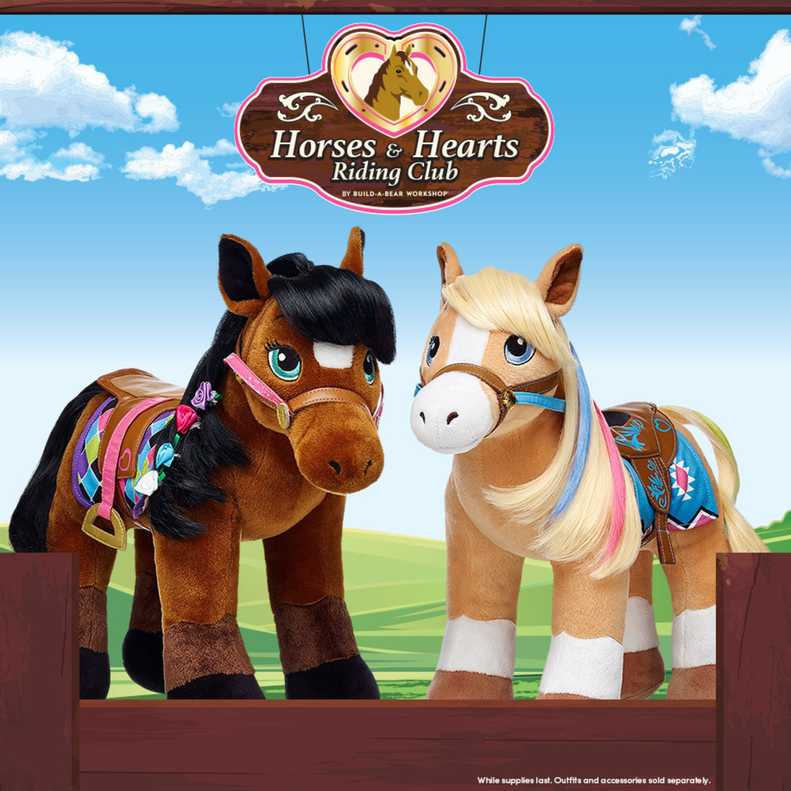 Build-A-Bear Workshop unveiled its new proprietary Horses & Hearts Riding Club collection today, making equestrian dreams come true for horse enthusiasts everywhere.