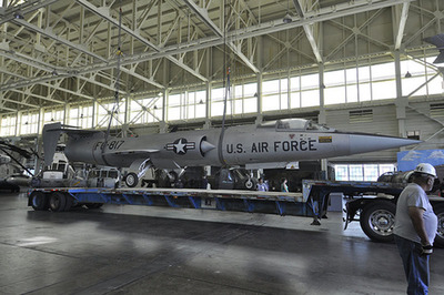 The Starfighter will be on display for visitors in the Museum's 87,000 sq. ft. battle-scarred Hangar 79.  (PRNewsFoto/Pacific Aviation Museum Pearl Harbor)